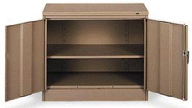 Desk Height Storage Cabinets. Wardrobe Storage Cabinets & Desk Height Storage Cabinets | Adjustable Full Width Shelves