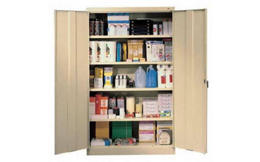 Storage Cabinet Shelving