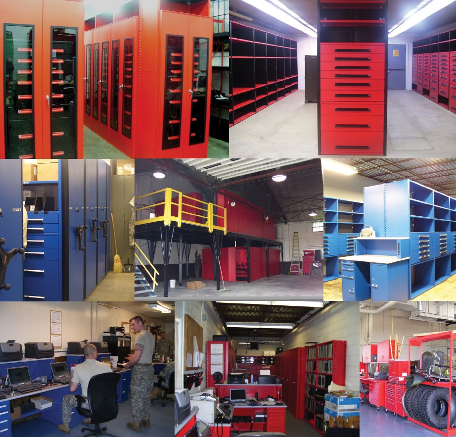 High Density Tool Room, Shop Floor renovations and more